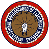 Electricians union logo
