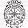 Plumbers union logo.